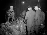 Gene Autry in Cowboy Attire posed in the Dark Photo by  Movie Star News