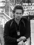 Michael Douglas Posed in Black Suit With Necklace Photo by  Movie Star News