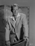 Alan Ladd Holding the Chair in Close Up Portrait Photo by  Movie Star News