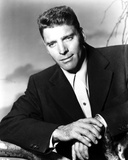Burt Lancaster Posed in Suit and Hands are Crossing Photo by  Movie Star News