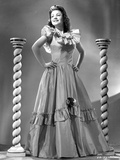 Anne Baxter on a Gown with Hands on the Waist Photo by  Movie Star News