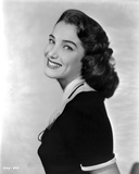 Movie Star News - Julie Adams Portrait Side View Pose in Black Dress - Photo