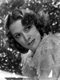 Eleanor Powell on Ruffled Top and Leaning Pose Photo by  Movie Star News