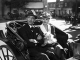 Fred Astaire and Ginger Rogers Riding a Carriage Photo by  Movie Star News