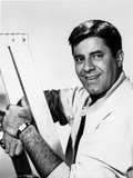 Dean Martin and Jerry Lewis smiling in White Sleeves Photo by  Movie Star News