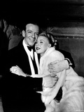 Fred Astaire and Ginger Rogers Embracing One Another Photo by  Movie Star News