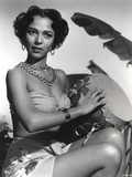 Dorothy Dandridge Holding Percussion in Classic Photo by  Movie Star News