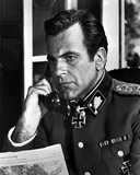 Maximilian Schell in Military Official With Phone Photo by  Movie Star News