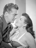Las Vegas Story Classic Portrait in Kissing Scene Photo by  Movie Star News