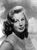 June Allyson Red lipstick, Curly Hairdo Portrait Photo by  Movie Star News