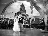 Fred Astaire and Ginger Rogers Walking on Stage Photo by  Movie Star News