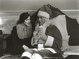 George Burns in Santa Claus Outfit Classic Portrait Photo by  Movie Star News