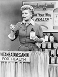 Lucille Ball Tasting Medicine in Movie Scene Photo by  Movie Star News