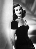 Joan Bennett Leaning on a Post in a Portrait Photo by  Movie Star News