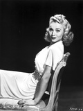 Carole Landis on a Dress sitting and posed Photo by  Movie Star News
