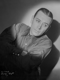 George Raft wearing Tuxedo Black and White Photo by AL Schafer