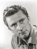 Kirk Douglas Black and White Close Up Picture Photo by  Movie Star News
