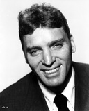 Burt Lancaster wearing a Black Suit and Tie Photo by  Movie Star News