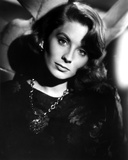 Suzy Parker in Black Blouse with Necklace Foto af  Movie Star News