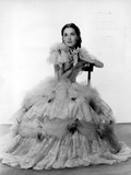 Maureen O'Sullivan on a Ball Gown sitting Photo by  Movie Star News