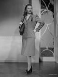 Barbara Stanwyck Posed in Office Outfit Porrait Photo by  Movie Star News