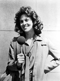 Sigourney Weaver Holding Microphone in Classic Photo by  Movie Star News