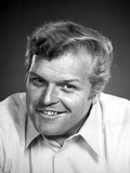 Brian Dennehy in White With Black Background Photo by  Movie Star News