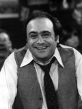 Danny Devito smiling in Blazer With Necktie Photo by  Movie Star News