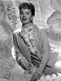 Ann Blyth wearing a Leather Coat in Portrait Photo by  Movie Star News