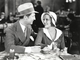 Loretta Young Lovers wearing Cap in a Date Photo by  Movie Star News