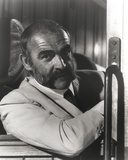 Sean Connery with Mustache in Formal Outfit Photo by  Movie Star News