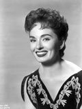 Ann Blyth on an Embroidered Top and smiling Photo by  Movie Star News