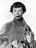 Imogene Coca wearing a Coat and Short Hair Photo by  Movie Star News