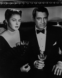 Notorious Couple Holding Wine Glass in Classic Photo by  Movie Star News