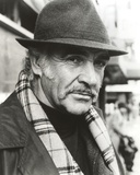 Sean Connery with Hat Black and White Portrait Photo by  Movie Star News
