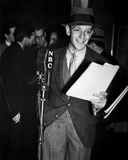 Fred Astaire Holding Script in Black and White Photo by  Movie Star News