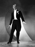 Fred Astaire Dancing White Bow Tie and Tails Photo by E Bachrach