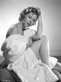 Gloria Grahame Posed in a White Bath Towel Photo by  Movie Star News
