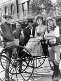 Gunsmoke Posed on Carousel Group Portrait Photo by  Movie Star News