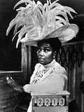 Pearl Bailey wearing Big Feather Hat Portrait Photo by  Movie Star News