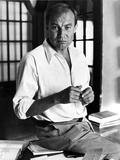 Klaus Brandauer in White long sleeve Portrait Photo by  Movie Star News