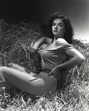 Jane Russell Posed on Horse House Portrait Photo by  Movie Star News