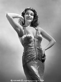 Rita Hayworth Hand on a Waist in a smiling Pose Photo by A.L. Schafer