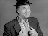 Sid Caesar Fixing His Black Suit in a Portrait Photo by  Movie Star News