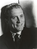 Kirk Douglas Leaning Pose in Formal Outfit Photo by  Movie Star News