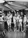 Lost In Space Group Picture in Black and White Photo by  Movie Star News