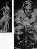 Norma Shearer Two Picture Collage in Classic Photo af Movie Star News