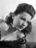 Anne Baxter on a Lace Top Leaning and posed Photo by  Movie Star News
