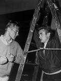 James Dean and Tab Hunter Posed in Classic Photo by  Movie Star News