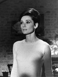 Audrey Hepburn Wait Until Dark White Sweater Photo by  Movie Star News